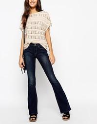 Расклешенные джинсы в стиле 70-х Esprit - Синий