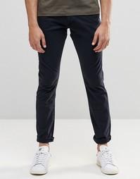 Зауженные брюки Wrangler - Темно-синий