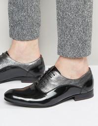 Оксфордские лакированные туфли Ted Baker Rugely - Серый