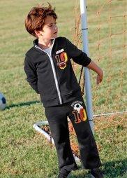 Спортивный костюм (черный) Bonprix