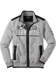Трикотажная куртка Regular Fit (черный) Bonprix