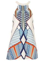 Платье (оранжевый с рисунком) Bonprix