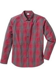 Клетчатая рубашка Regular Fit (темно-синий в клетку) Bonprix