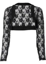 Кружевная куртка-болеро (экрю) Bonprix