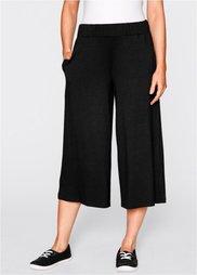 Трикотажные брюки длиной 3/4 (черный) Bonprix