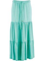 Трикотажная макси-юбка дизайна Maite Kelly (ночная синь) Bonprix