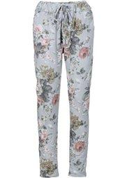 Трикотажные брюки с принтом (розовый с рисунком) Bonprix