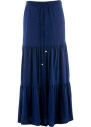 Трикотажная макси-юбка дизайна Maite Kelly (зеленый океан) Bonprix