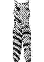Комбинезон, Размеры  116-170 (черный/серый с узором) Bonprix