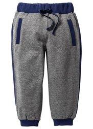 Трикотажные брюки, Размеры  80-134 (натуральный меланж/антрацитовы) Bonprix