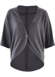Свободная трикотажная куртка (натуральный камень) Bonprix