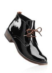 Лакированные ботинки (темно-красный) Bonprix