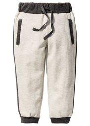 Трикотажные брюки, Размеры  80-134 (серый меланж/ночная синь) Bonprix