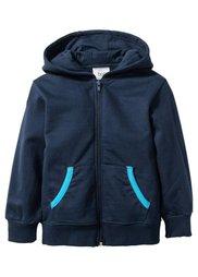 Трикотажная куртка с капюшоном, Размеры  80/86-128/134 (натуральный меланж) Bonprix