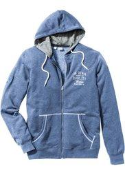 Трикотажная куртка Regular Fit (антрацитовый меланж) Bonprix