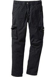 Легкие брюки-карго Regular Fit Straight, cредний рост (N) (цвет камня) Bonprix