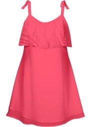 Кружевное платье (белый) Bonprix