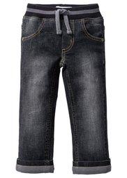 Джинсы, Размеры  80-134 (темно-синий «потертый»/лазурны) Bonprix