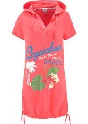 Пляжное платье (зеленый лайм) Bonprix