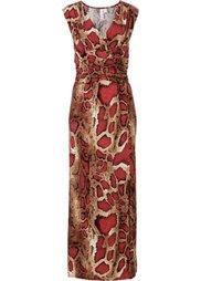 Вечернее платье (леопардовый/синий) Bonprix