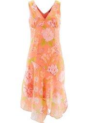 Платье с цветочным принтом (лимонный сорберт с рисунком) Bonprix
