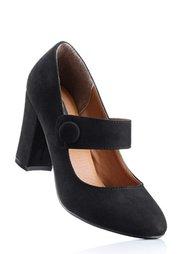 Туфли Мэри Джейн (серо-коричневый) Bonprix