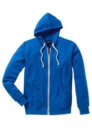 Трикотажная куртка Slim Fit (серый меланж) Bonprix