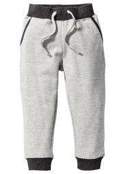Трикотажные брюки, Размеры  80-134 (натуральный меланж/морской зел) Bonprix