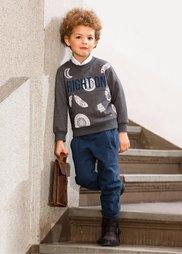 Трикотажные брюки, Размеры  80-134 (темно-синий) Bonprix