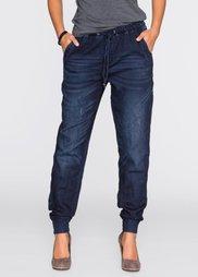 Трикотажные брюки, cредний рост (N) (темно-синий) Bonprix