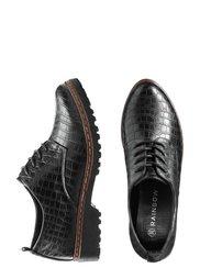 Туфли (черный с тиснением) Bonprix