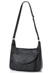 Базовая сумка на ремне через плечо (бежевый) Bonprix