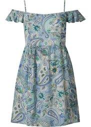 Платье с узором пейсли (нежно-желтый с рисунком) Bonprix