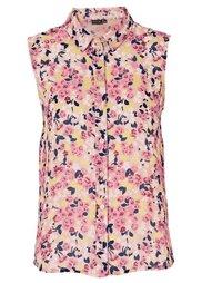 Блуза (экрю в цветочек) Bonprix