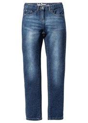 Очень мягкие джинсы Skinny, Размеры  116-170 (черный «потертый») Bonprix