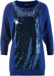 Пуловер с пайетками ПРЕМИУМ (цвет фуксии) Bonprix