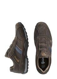 Замшевые слиперы (коричневый/бежевый) Bonprix