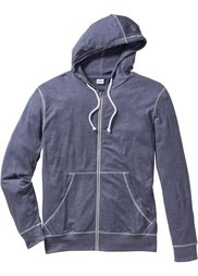 Трикотажная куртка Regular Fit (бирюзовый меланж) Bonprix