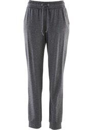 Спортивные брюки из трикотажа (меланжевый индиго) Bonprix