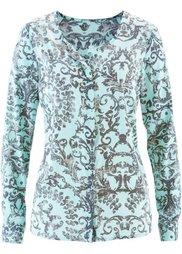 Блузка (лиловая фиалка с рисунком) Bonprix