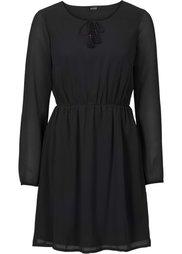Шифоновое платье (красно-коричневый с принтом) Bonprix