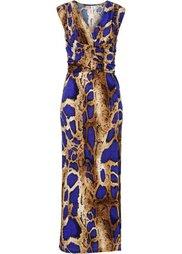 Вечернее платье (леопардовый/красный) Bonprix