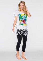 Пижама-капри (различные расцветки с рисунком) Bonprix