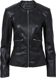 Куртка из искусственной кожи (бордово-коричневый) Bonprix