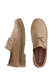 Туфли на шнурках (бежевый) Bonprix
