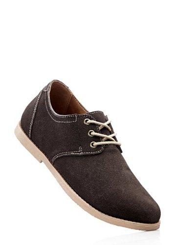 Замшевые туфли (темно-синий)