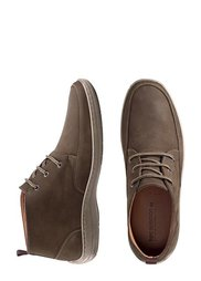 Замшевые ботинки на шнурках (коньячно-коричневый) Bonprix