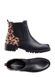 Ботинки (черный леопардовый) Bonprix