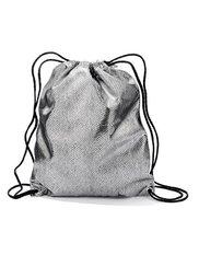 Сумка-мешок Металлик (черный) Bonprix