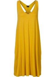 Трикотажное платье с красивой спинкой (темно-синий) Bonprix